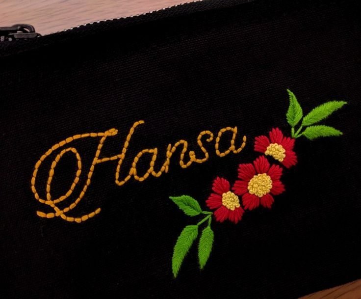 One of my favorites♥️ Indeed, it's a beautiful name!! #handembroidery #personalized #giftsformom #christmasgift