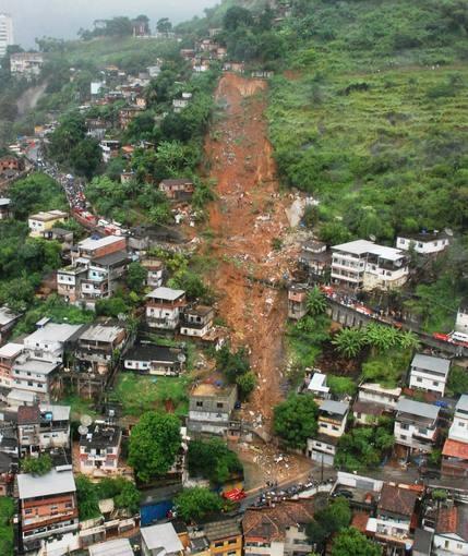 Inundación en Rio, 2010