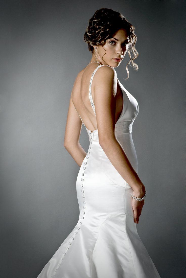 Wedding dresses, Wedding dress    Dress: Melissa Gentile   Hair and Makeup: Tomoko Hikada   Model: Romina