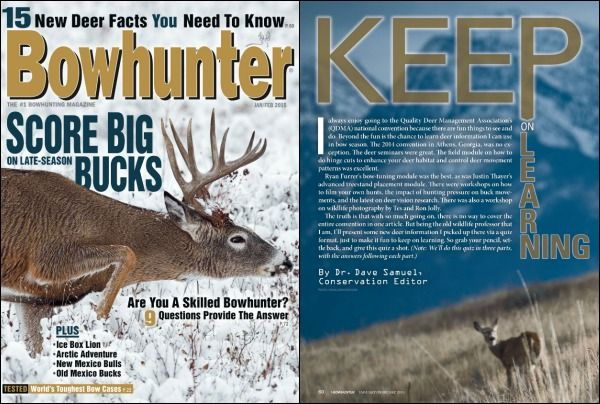 So, you think you're a deer expert do ya? Test your knowledge with Bowhunter magazine's buck test, now on #Readly. | Readly.com