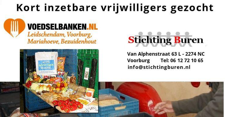 20 / 30 Dec - Voedselbank Stichting Buren zoekt kort inzetbare vrijwilligers - http://www.wijkmariahoeve.nl/voedselbank-mariahoeve-bezuidenhout/
