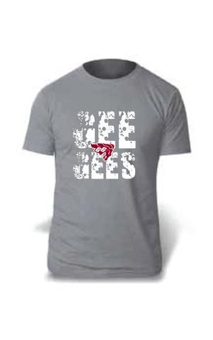 Chandail gris pour hommes/Men's grey Gee-Gees T-shirt