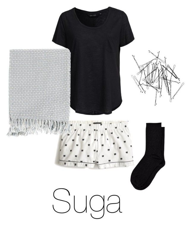 """""""Movie night with Suga"""" by laylarawlings on Polyvore featuring J.Crew, New Look, Vero Moda, Surya, Monki, women's clothing, women, female, woman and misses"""