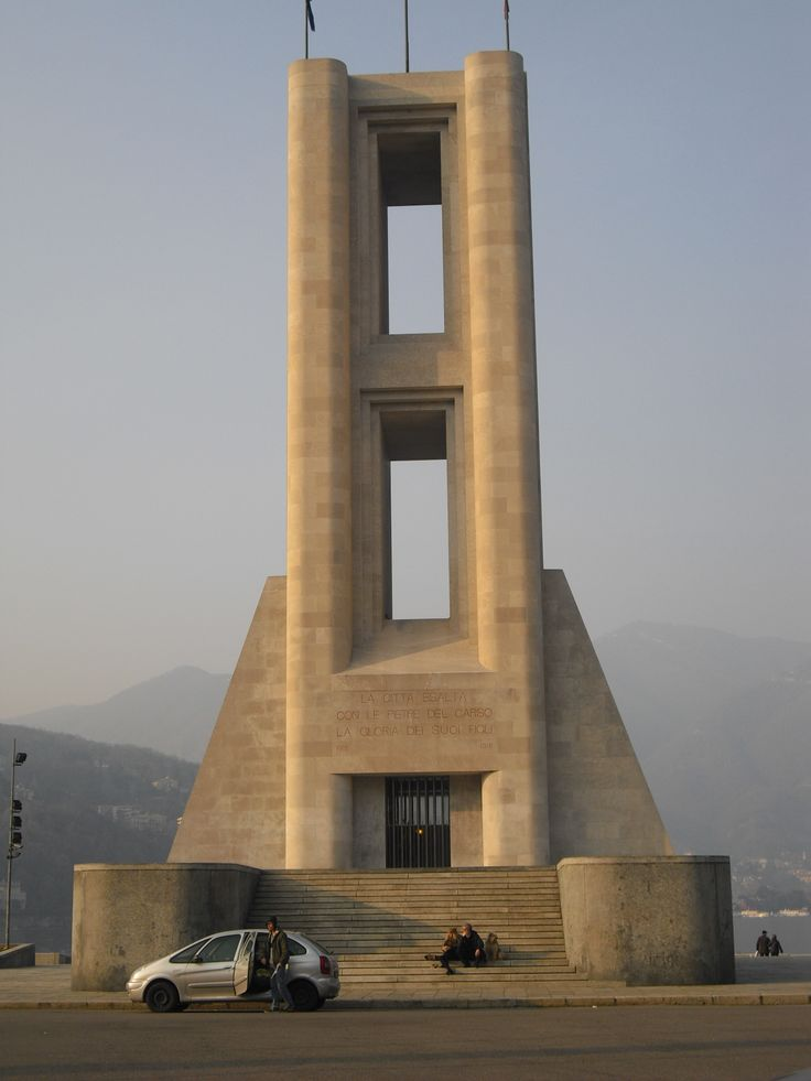 Monument dedicated to the dead soldiers of the World War II