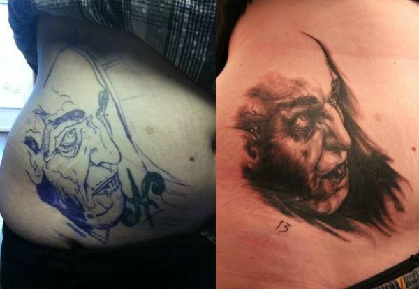 20 tatouages de films dhorreurs   20 tatouages de films d horreurs nosferatu