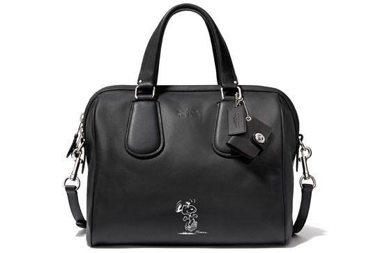 There is a COACH Snoopy bag coming out!!!!! Coach's Latest Collab Is Nostalgia Done Right #refinery29