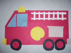 Community Helper Vehicles! Directions for 4 trucks!