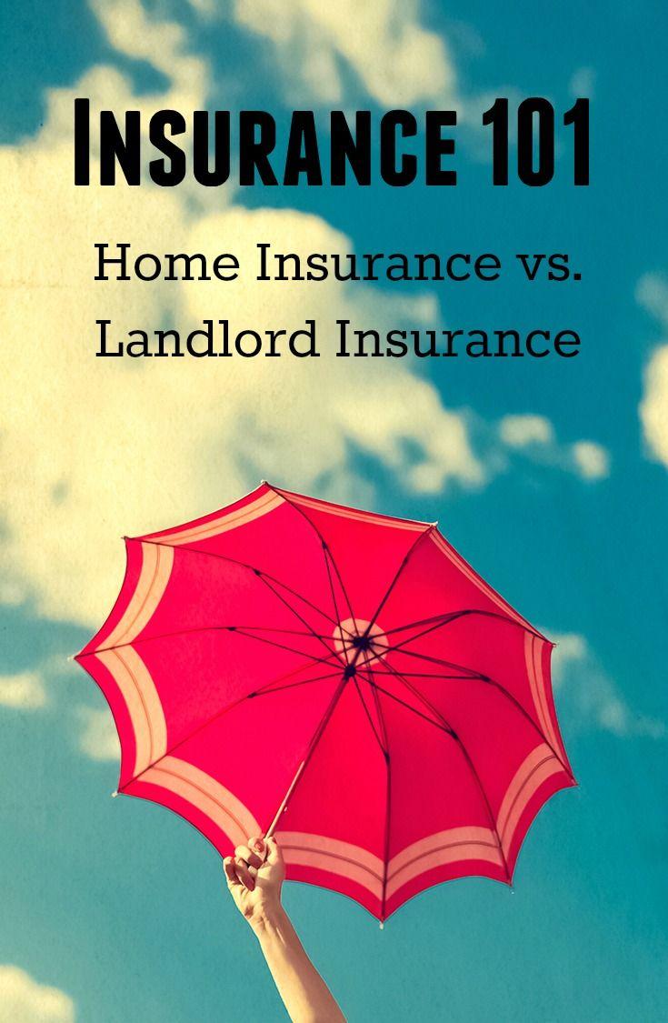 Insurance 101: Home Insurance vs. Landlord Insurance