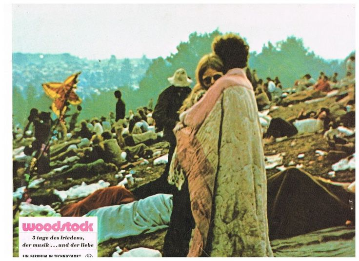 authentic Woodstock Film Lobby Cards from Europe from curioshop on ...