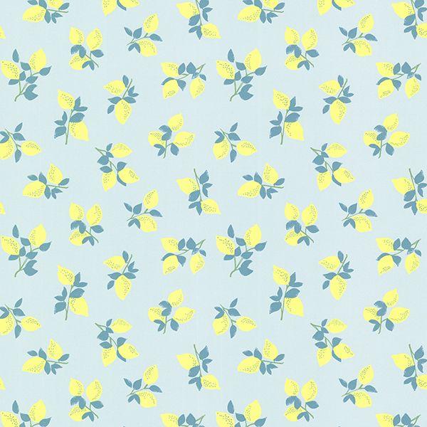 359163 - Citron Pink Juicy Lemon Wallpaper - by Eijffinger