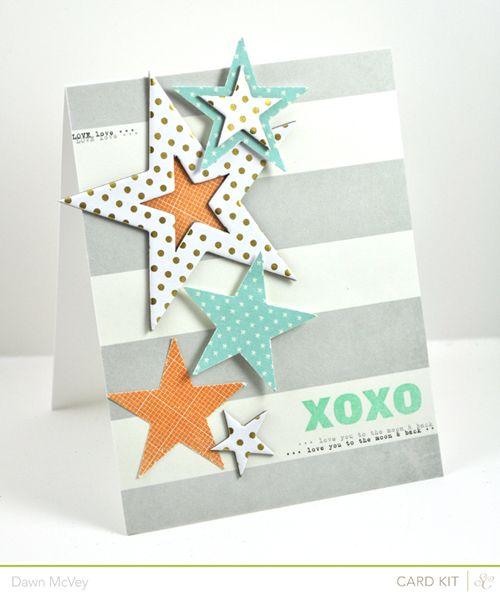 #papercraft #card by Dawn McVey for StudioCalico.com