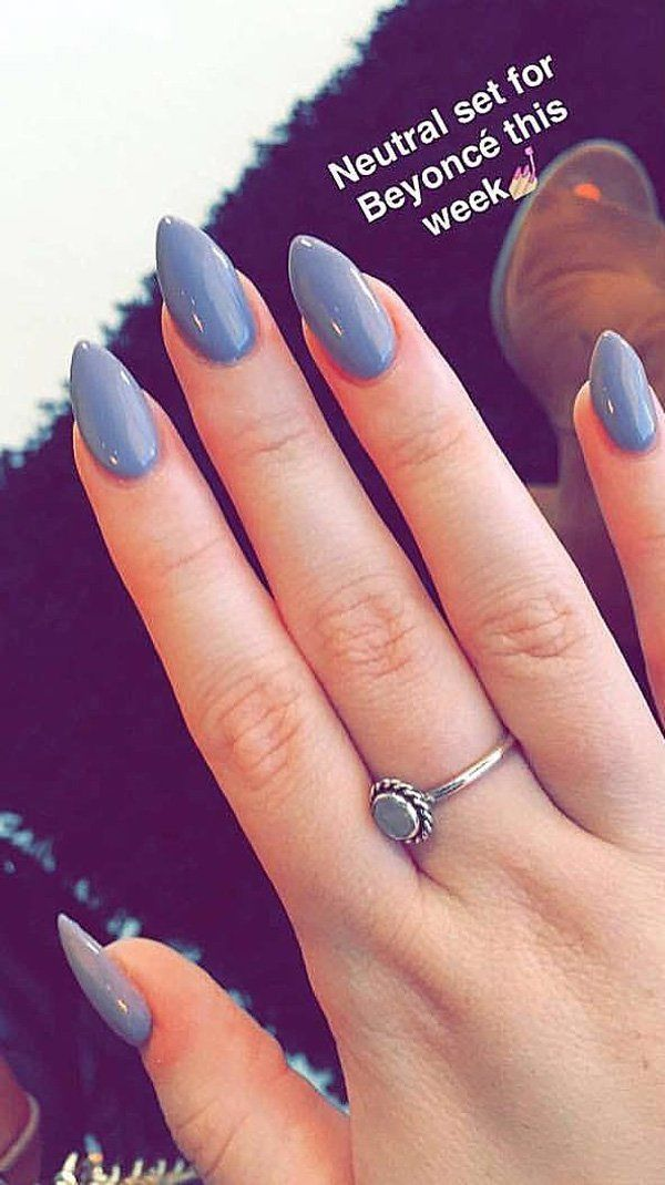 Best 25+ Almond Acrylic Nails Ideas On Pinterest