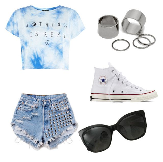"""""""Untitled #10"""" by shaye1z ❤ liked on Polyvore featuring Runwaydreamz, Converse, Pieces and Chanel"""
