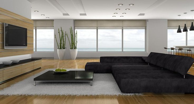 Super sexy minimalist living room