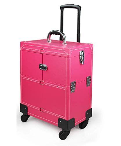 ae118dcc6 Zhang Nail Art Maquillaje Caja de Belleza/Trolley/Maleta/Caja para esmaltes  de