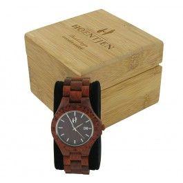Hoentjen Creatie houten horloge
