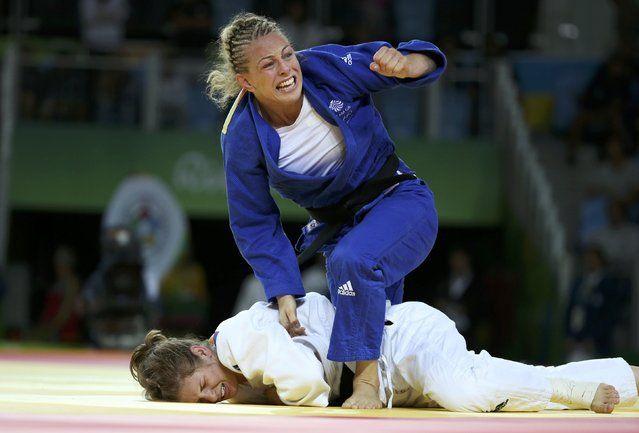 2016 Rio Olympics, Judo, Final, Women, 70 kg Bronze Medal Contests, Carioca…