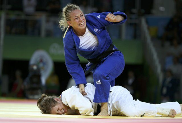 2016 Rio Olympics, Judo, Final, Women, 70 kg Bronze Medal Contests, Carioca…