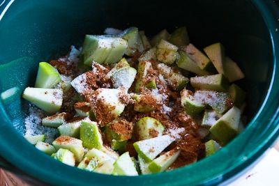 CrockPot Recipe for Make-Ahead Apple Pie Oatmeal [from KalynsKitchen ...