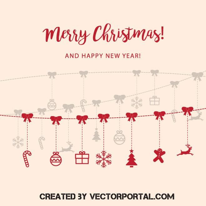 89 best Christmas vectors images on Pinterest Vectors, Christmas - greeting card format