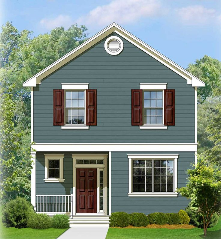 Plan 82083KA Two Story Traditional House Plan