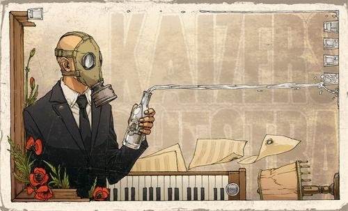 Kaizers Orchestra Fan Art ( source: tumblr ( mrvikkiethecrucian)