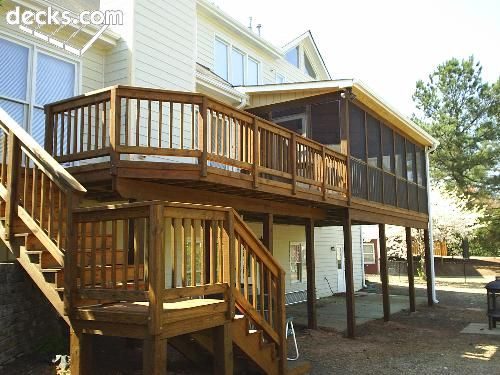 Top 28+ - High Elevation Deck Designs - high backyard