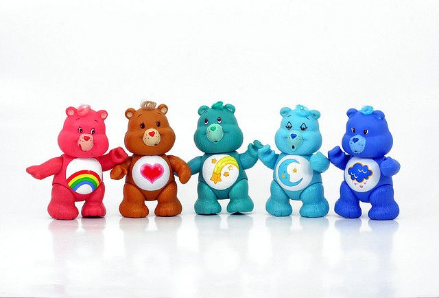 Care Bears from the 80's #bisounours