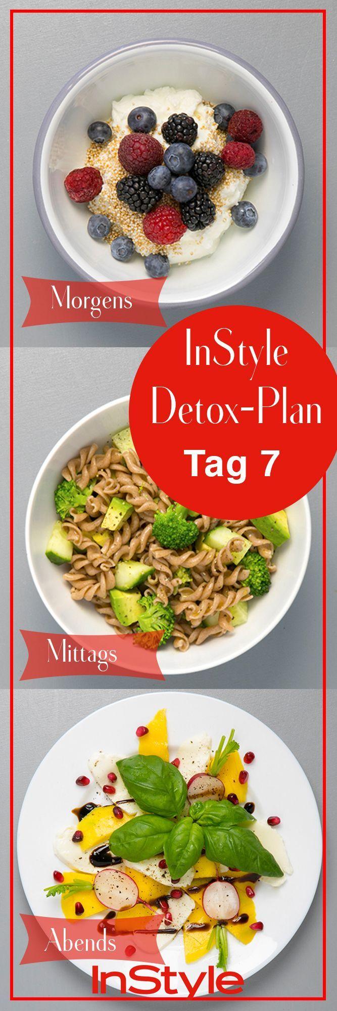 7 Tage Detox Plan: Lecker, gesund und super einfach!