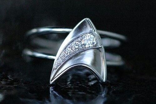 Star trek. This can be my engagement ring