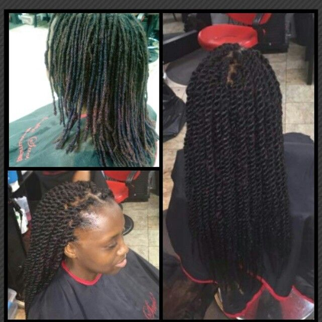 Marley Twist Over Locs Natural Hair Fetish Pinterest