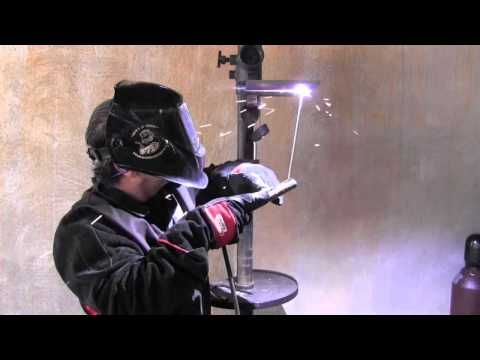 The First Lesson of Welding - Learn to Run a Straight Bead (Everlast PowerTIG 200DV) - YouTube
