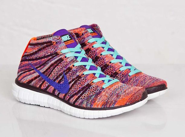 The Nike Free Flyknit Chukka looking gorgeous in this new women\u0027s release.
