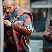 Zoom sur les meilleurs looks de rue pris sur le vif par Jonathan Daniel Pryce au Pitti Uomo automne-hiver 2016-2017 à Florence