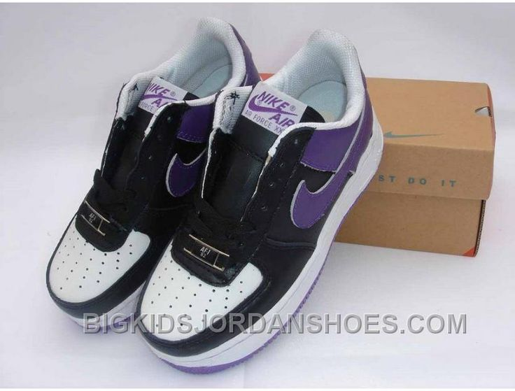 http://www.bigkidsjordanshoes.com/hot-kids-nike-air-force-1-low-white-black-purple.html HOT KIDS NIKE AIR FORCE 1 LOW WHITE BLACK PURPLE Only $85.00 , Free Shipping!