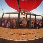 Aloft over the outback in Australia's biggest balloon