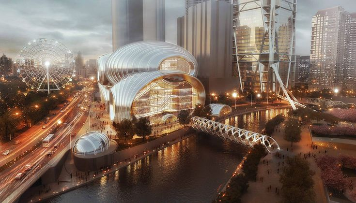 The Hebin Theater provides both a signature building and a unique cultural resource for the city of Guiyang. Located on the banks of the Nanming River in the heart of downtown Guiyang, this performing arts center anchors the Guizhou Culture Plaza development, which was master-planned by SOM. With additional connections to Zhucheng Square and the …