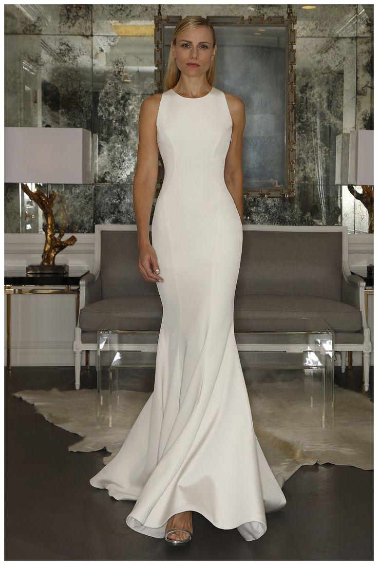 Form Fitting Modern Wedding Dresses