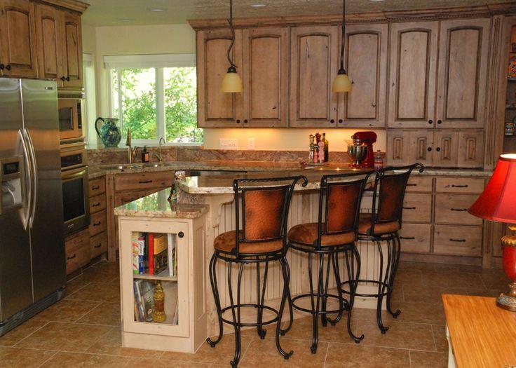 Kitchen Cabinets Alder Maple Cherry Oak Fashion Cabinet Mfg