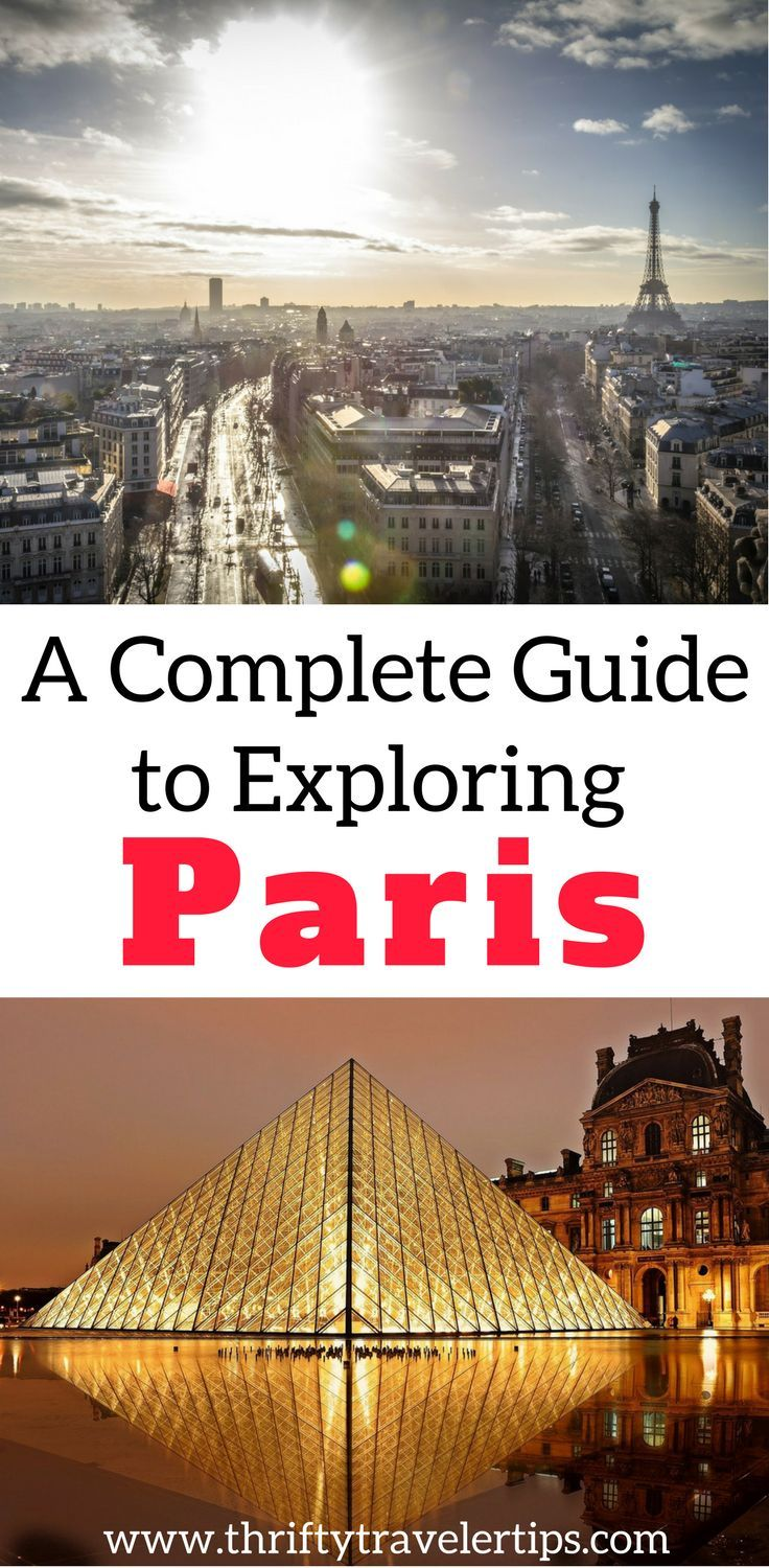 Paris, France has so much to offer, that you'll want to plan ahead before you visit. Check out this complete guide to exploring Paris. It includes food and drinks to eat in Paris, things to see in Paris, and phrases to know in Paris. Don't forget to save this Paris guide to your travel board. #paris #parisfrance #paristraveltips #parisguide #travelguide