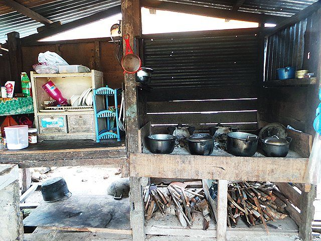 Chalkboards on the refrigerator provide a place for busy fam. Pin on Dirty Kitchen images in the philippines