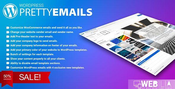 WordPress Pretty HTML Emails v1.6.0  Responsive Modern HTML Email Templates