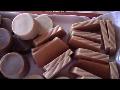 Sapone fatto in casa al miele e lavanda - nutriente - YouTube