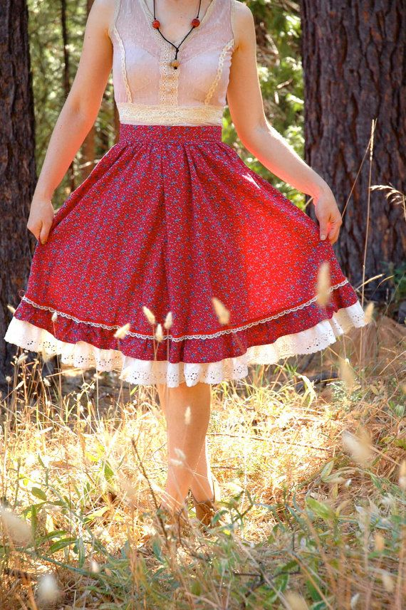 21 Best Prairie Skirts Images On Pinterest Cotton Quilts
