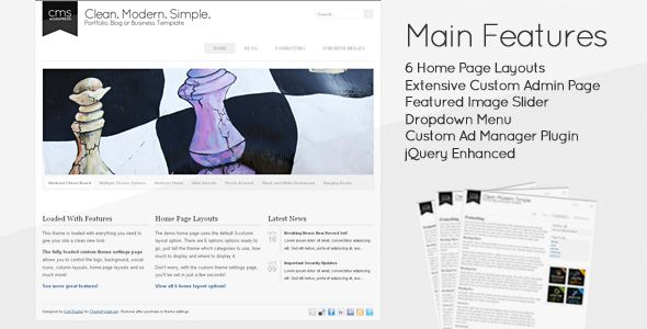 Review Clean Modern Simple - CMS WordpressIn our offer link above you will see