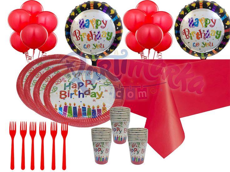 Doğum Günün Kutlu Olsun Parti Seti