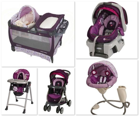 Graco Minnie Mouse Print Love This Want It All Already