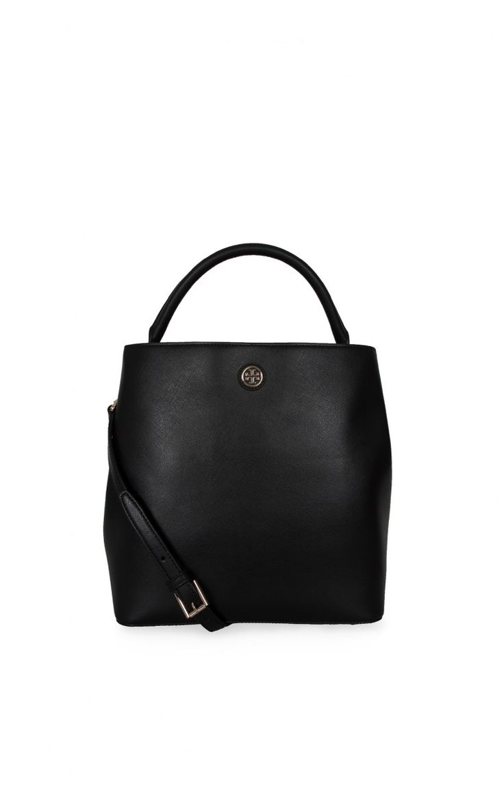 Handväska Robinson Bucket Tote BLACK/GOLD - shop the outfit - Raglady
