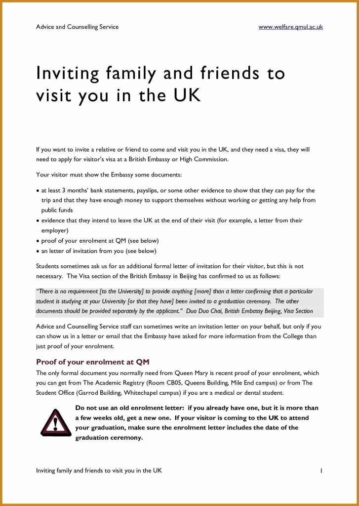 invitation letter for parents to visit