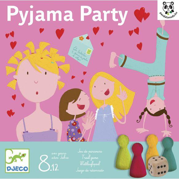 Pizsama Party mókás társasjáték (Pyjama Party Djeco)   Pandatanoda.hu Játék webáruház